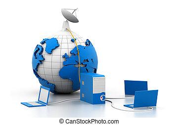 Servir conexión en línea