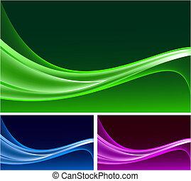 Set de antecedentes abstractos vector