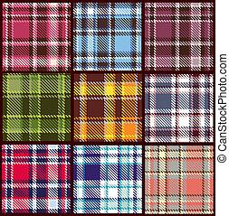 Set de patrón de vector sin marcas