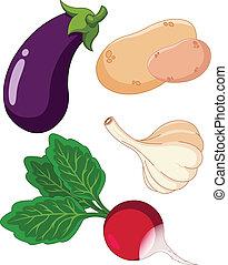 Set of vegetal3
