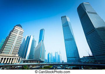 shanghai, edificio de oficinas