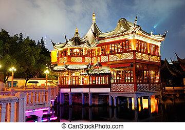 shanghai, pagoda, edificio