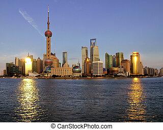 shanghai, pudong, china