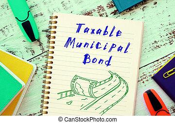 sheet., frase, taxable, bono municipal