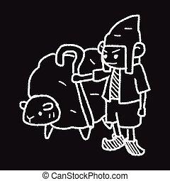 Sheperd Doodle