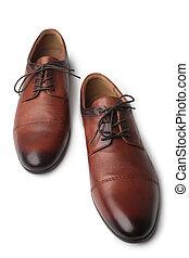 shoes, marrón