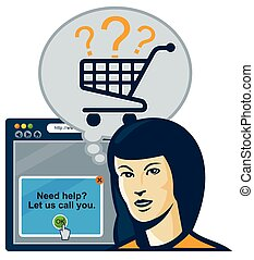 shopper-car-internet-browser