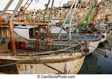 sicilia, sciacca, puerto