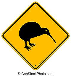 Signo amarillo Kiwi