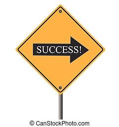 Signo de éxito