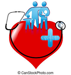 Signo de asistencia sanitaria