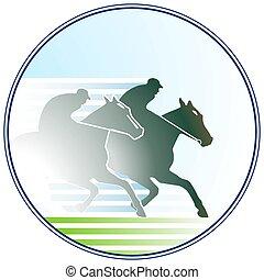 Signo de carreras de caballos