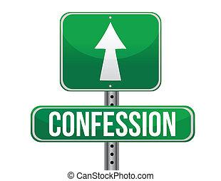 Signo de confesión