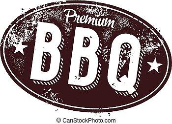 Signo de cosecha Premium BBQ