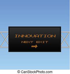 Signo de innovación