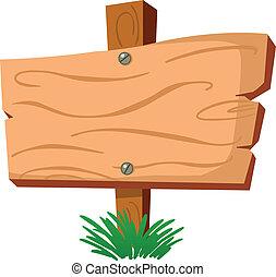 Signo de madera
