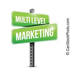 Signo de marketing multinivel