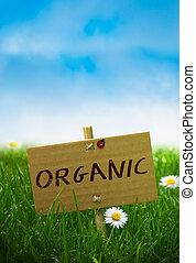 Signo orgánico, tierra natural