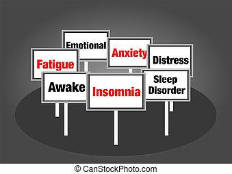 Signos de insomnio