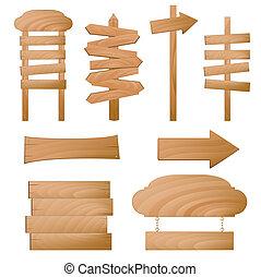 Signos de madera