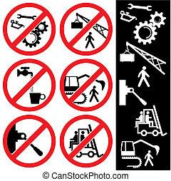 Signos de prohibición