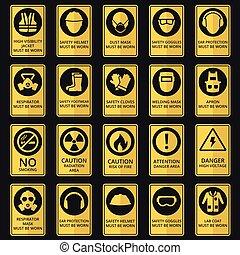 Signos de salud y seguridad. El equipo debe ser usado