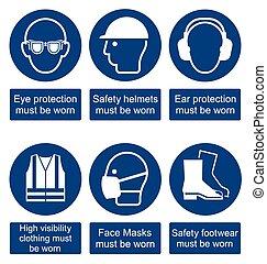 Signos de salud y seguridad