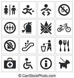 Signos internacionales establecidos