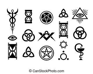 Signos ocultos y sellos mágicos