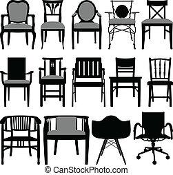 silla, diseño