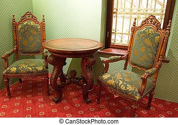 sillas anticuadas