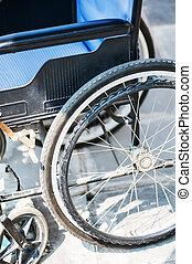 sillas de ruedas, ningunas personas