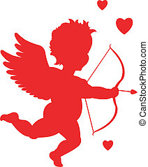 Silueta Cupido
