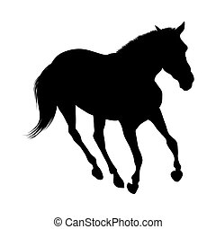 Silueta de caballo