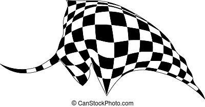 Silueta de un toro aislado en el fondo blanco. Vector Ilust