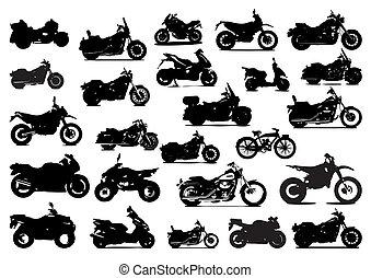 Siluetas bicicletas