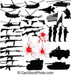 Siluetas militares