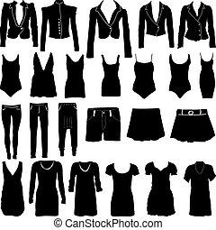 siluetas, womens, ropa