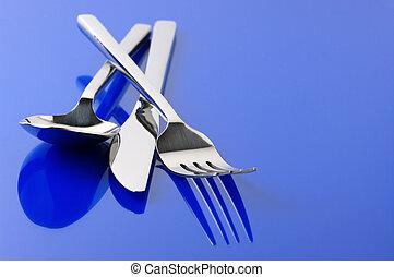 Silverware en azul