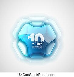 Simbolo abstracto futurista
