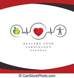 Simbolo cardíaco sano
