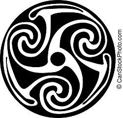 Simbolo celta, tatuaje o arte