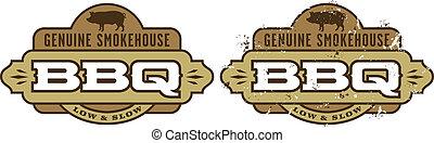 Simbolo de barbacoa/icon