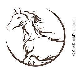 Simbolo de caballo