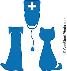 Simbolo de la medicina veterinaria