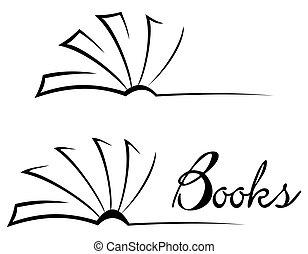 Simbolo de libro