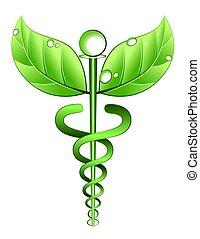 Simbolo de medicina alternativo