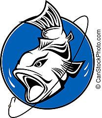 Simbolo de pesca