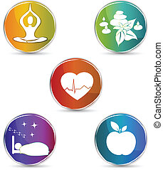 Simbolo de salud establecido