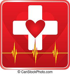 Simbolo de salud médica